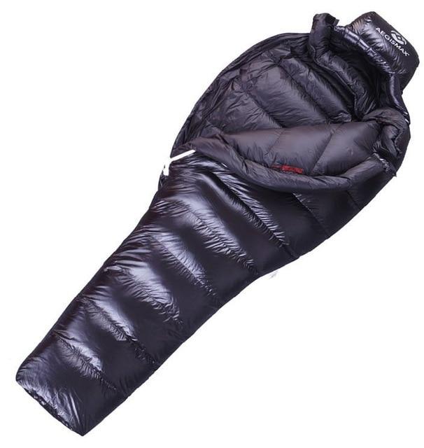 AEGISMAX 95% white duck down UL winter sleeping bag camping Urltra-compact ultralight down sleeping bag -5degree to-10degree