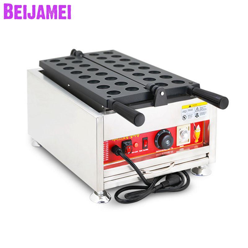 BEIJAMEI New conditioner commercial kaya ball maker machine electric ball shape waffle maker making machine price
