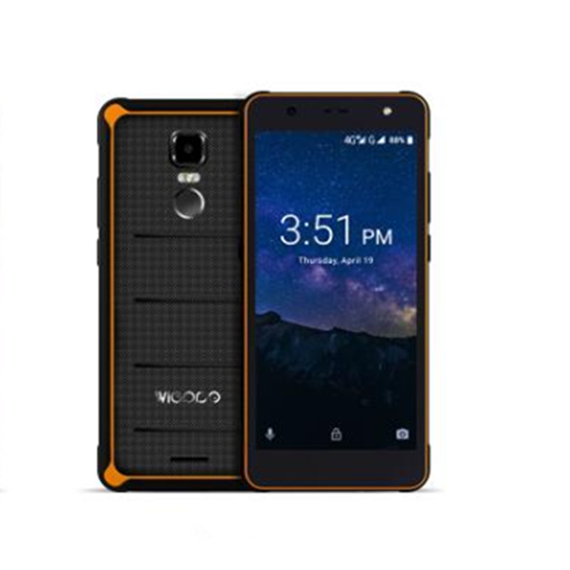 Wieppo E1 IP68 Quick Charge 4000mAh big battery 4G 18:9 2GB RAM 16GB ROM Smartphone MT6739 13MP NFC Touch ID Mobile Phone