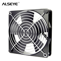 ALSEYE AC 220 240V 120mm Fan Metal Frame 12cm AC Cooling Fan With Cover 50 60