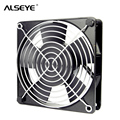ALSEYE AC 220/240V 120mm Fan Metal frame 12cm AC cooling fan with Cover 50/60 HZ 2500RPM Two Ball Bearing Cooling Fans