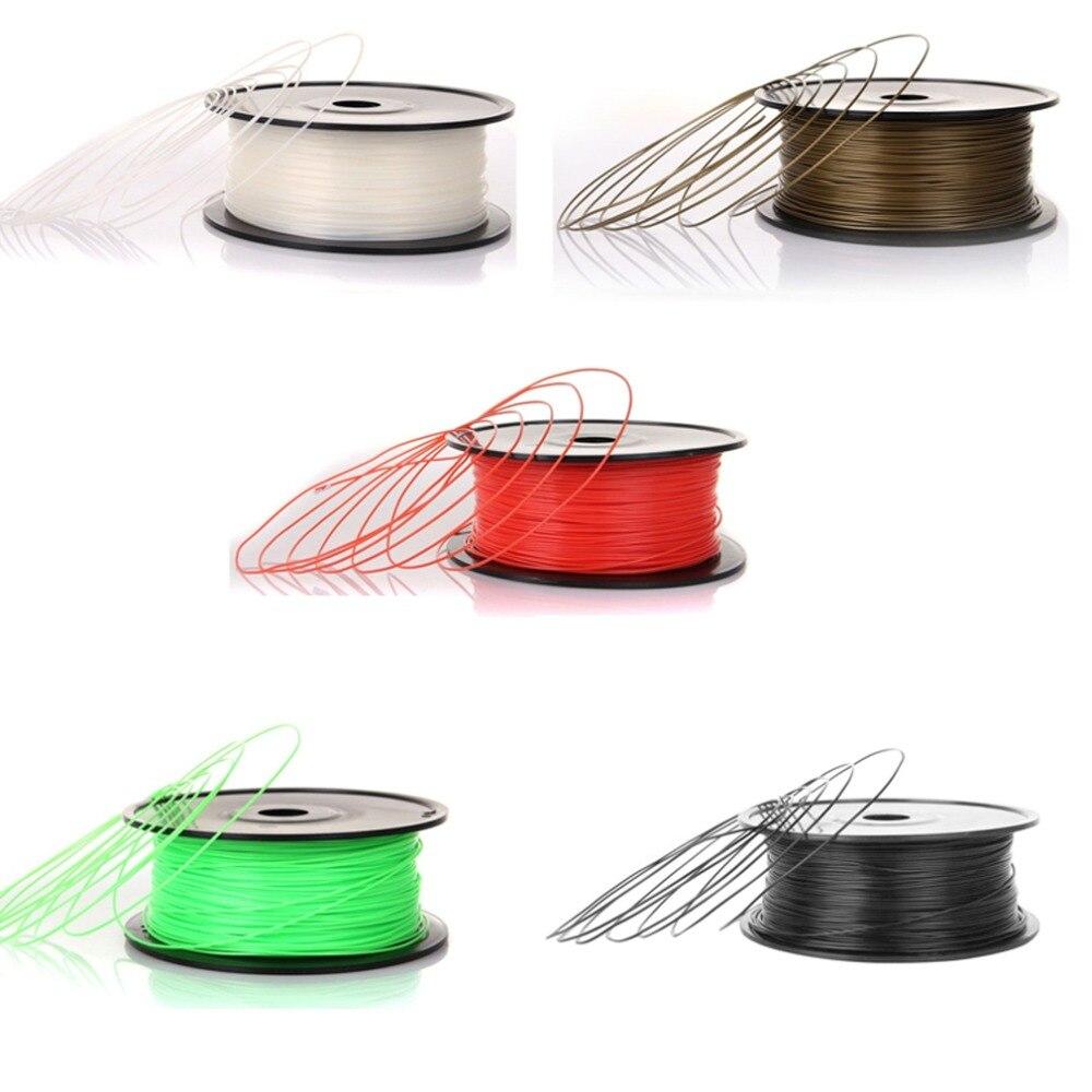 Niedrigen Schrumpfung Sehr Stabile Shiny Finish Hochfeste 3D Druck Drucker Filament PLA 1,75mm 1 kg/Probe für reprap Makerbot