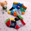 Letter Baby Boy Socks 2016 Kids Short Sock Warm Thick Infant Sock Fashion Football Socks Boys Winter Cotton Children Clothing