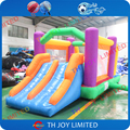 Oxford fabric inflatable bouncer combo/inflatable bouncy castle with slide