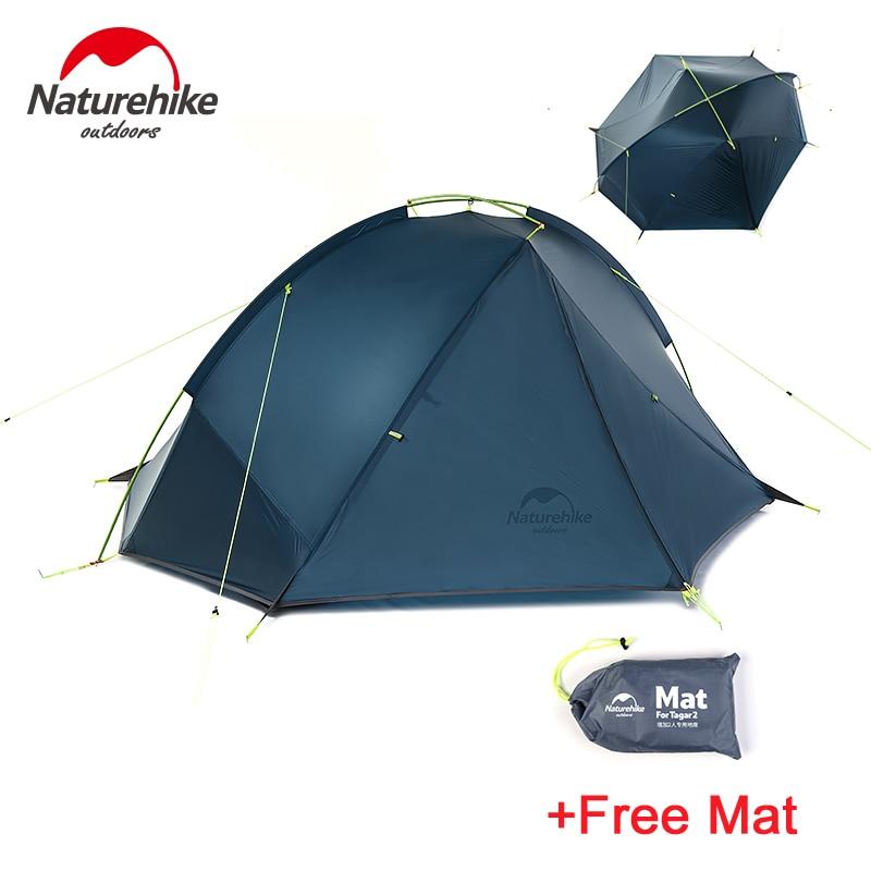 Naturetrekking Taga 1-2 personne tente Camping sac à dos tente 20D ultraléger tissu NH17T140-J