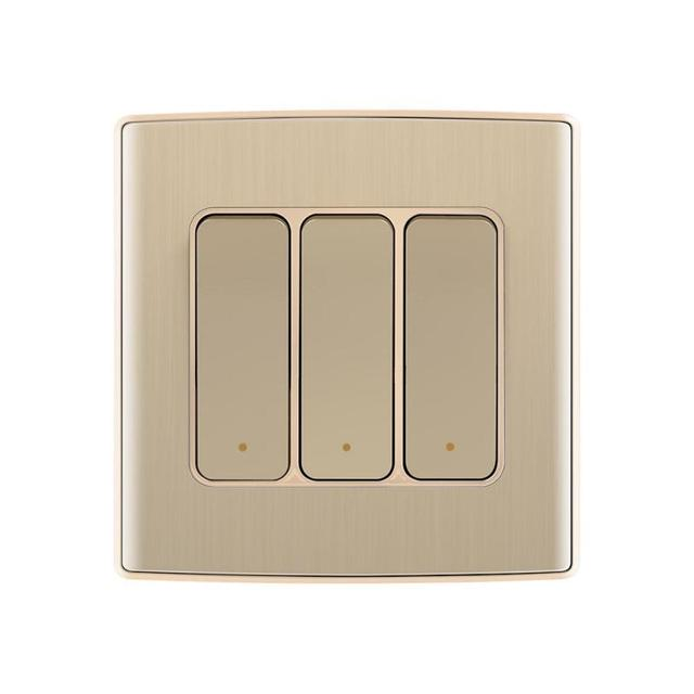 New wifi light wireless smart remote control wall light switch with new wifi light wireless smart remote control wall light switch with app for ios android control aloadofball Images