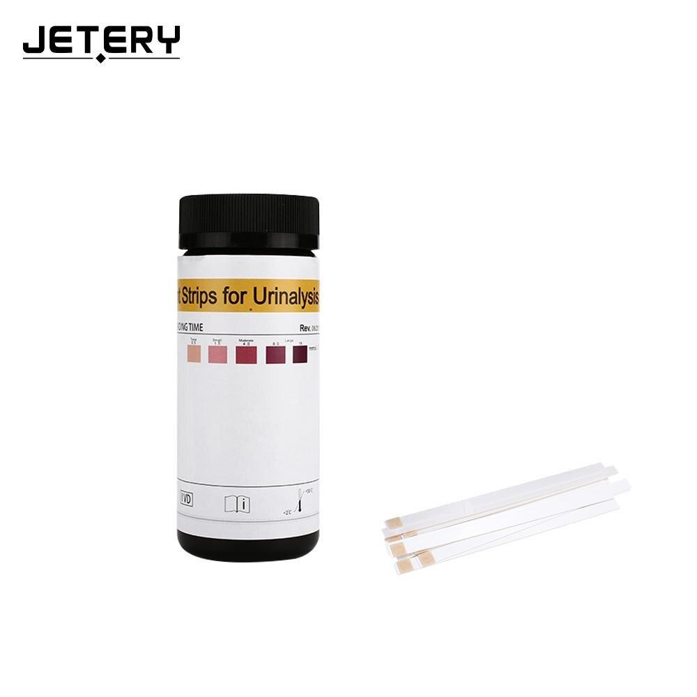 Urinary Ketone Paper Urine Dipstick Black Portable Ketone Strips Healthy Body Fat Loss Practical Test Paper Paper