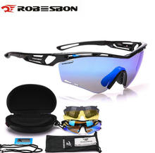 ROBESBON 2017 Light Cycling Goggles Polarized Sports Sunglasses Men Women MTB Mountain Road Bicycle Eyewear Cycling Bike Glasses