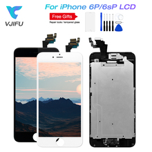 Full LCD For iPhone 6 plus Display Touch Digitizer Assembly 6s plus Complete Screen Display with Home button & front camera цена в Москве и Питере
