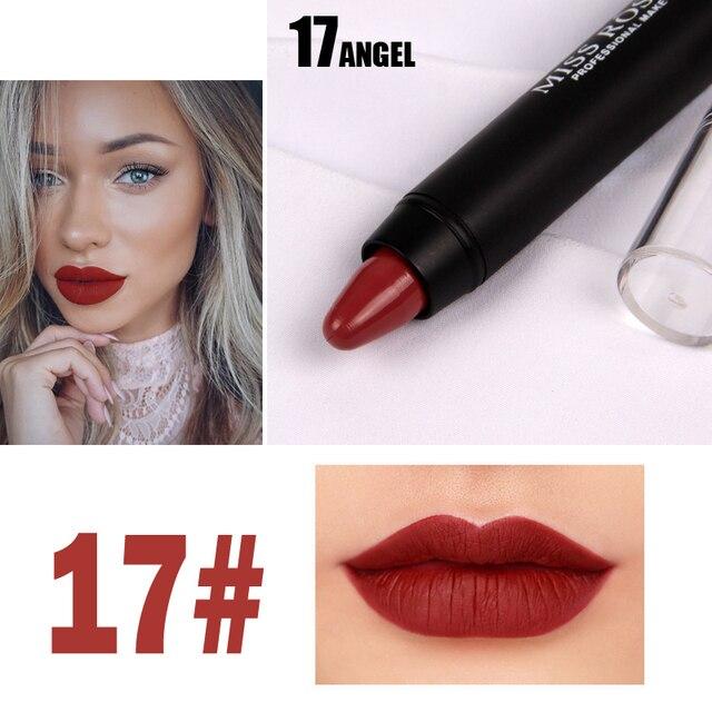 8 Colors MISS ROSE Brand Lipstick Nude Lip Kit Long Lasting Lipgloss Lip Pigment Velvet Lipstick Matte Lip Tint Set Batom Stick 3