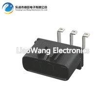 5PCS 3 hole jacket with car plug connector terminals DJ7032Y-6.3-10