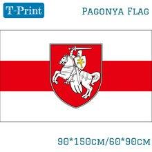 Free shipping Belarus White Knight Pagonya Flag 150x90cm 60x90cm Banner брюки free knight 1006