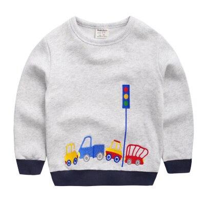 2 Цветов Новый 2016 дизайн Дети хлопка Толстовки Моды Свитер Для Детей Мальчики Девочки Толстовка Пуловер