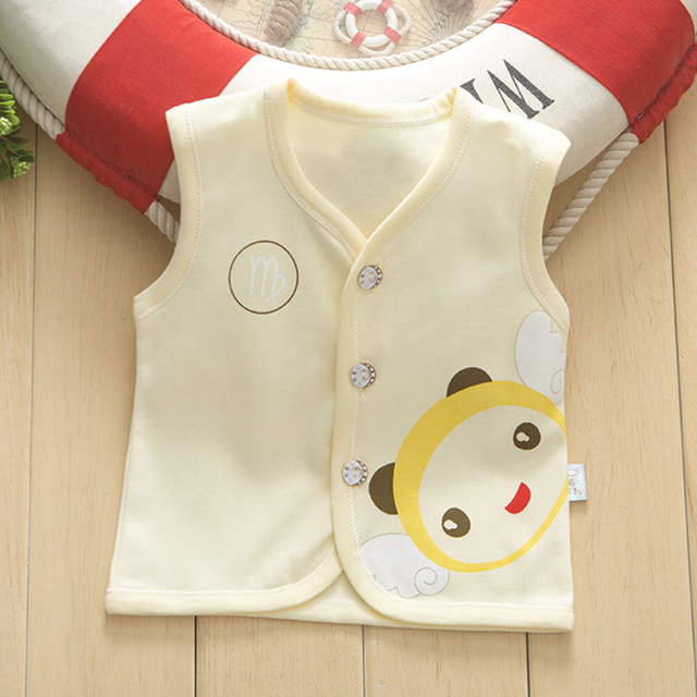 Warm Waistcoat For Baby Girls Or Boys, From 0 To 24 Month Toddler / Infant