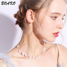Natural Freshwater Baroque Pearl Necklace Women Multilayer Choker Necklace Bohemia Handmade Jewelry Clavicle Chain Necklace ashiqi natural freshwater baroque pearl layered necklace women 4 8mm 5 rows bohemia handmade jewelry fashion