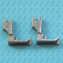 Hinged Right Raising Presser Foot With Guide for Top Stitch 12463H 3 32 2PCS