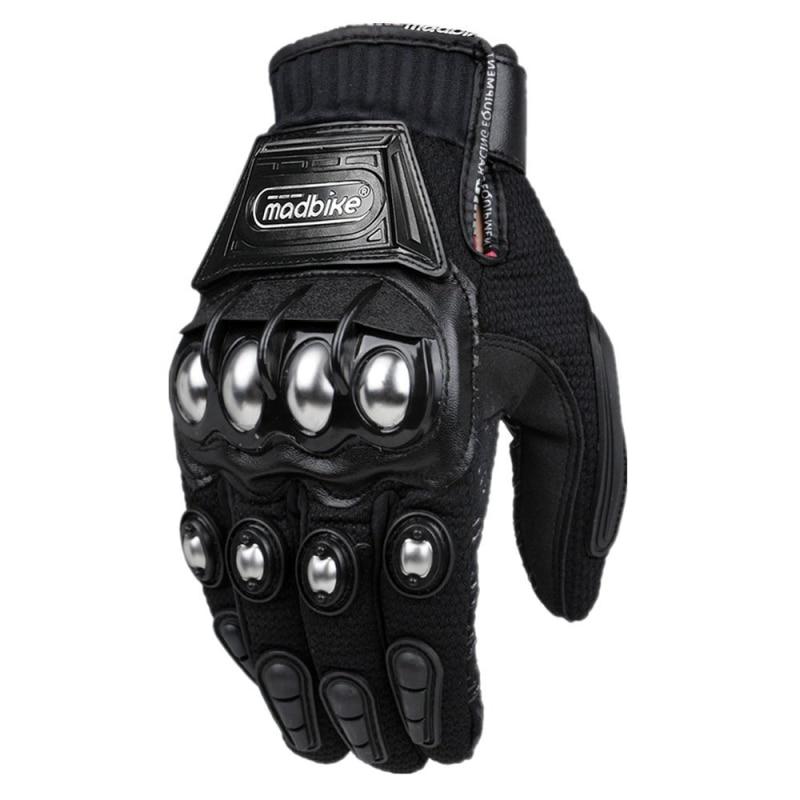 Neue Mode Stahl Motorrad Handschuhe Racing Handschuhe Motorrad Handschuhe Schutz Guantes Luvas Para Motor