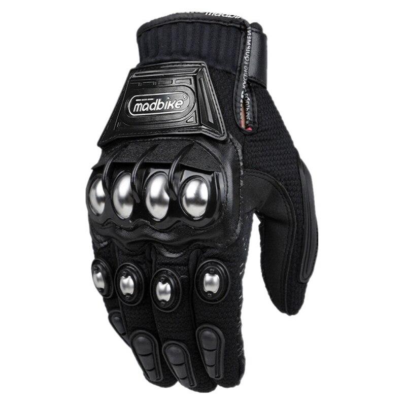 Nueva moda de acero moto de carreras Guantes moto Guantes de protección Luvas Para Motor