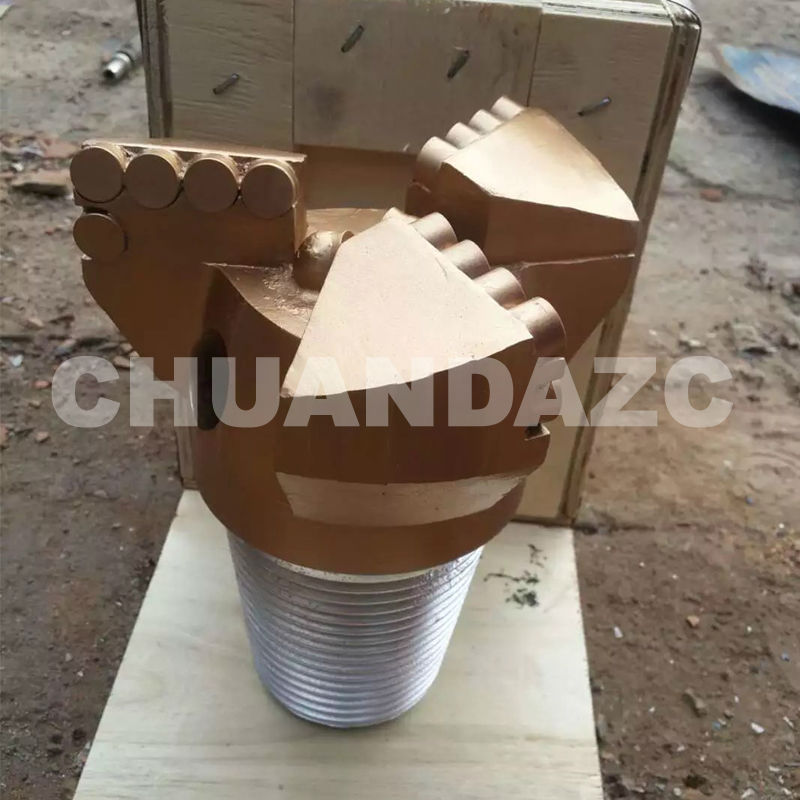 Factory Outlet 151mm three wing drag bits,PDC drag bit for mining drilling,water well drilling bit diamond pdc drill bit coal ore mining oil well drilling 3 wing coring