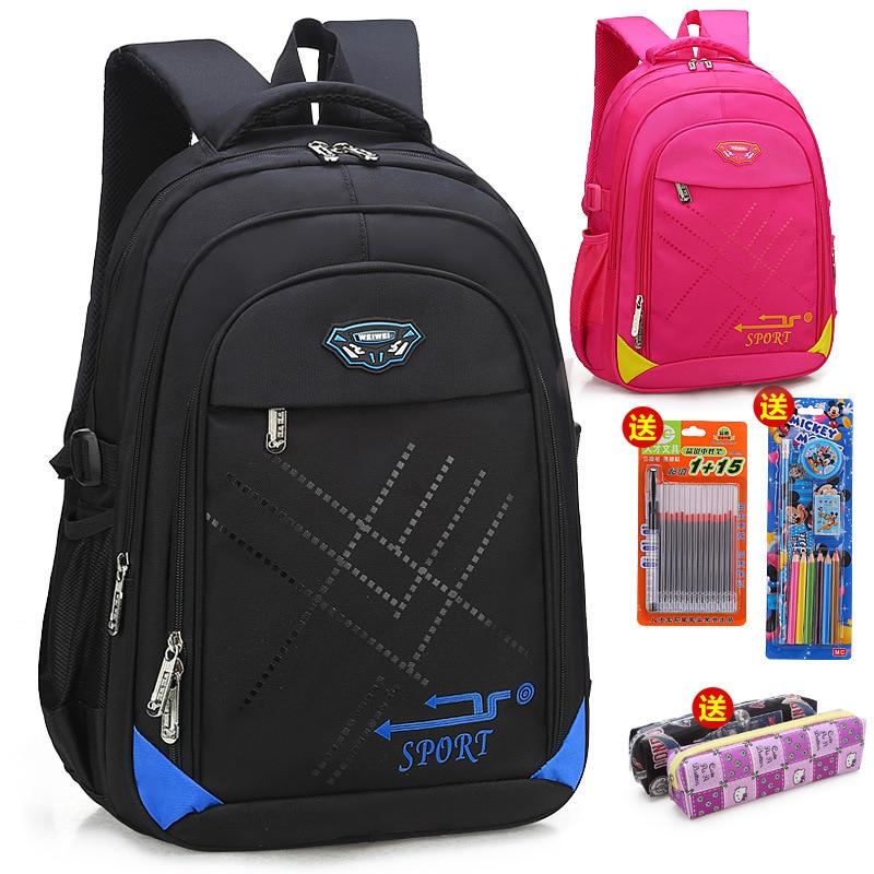 Waterproof Children School Bags Orthopedic Schoolbags Primary School Backpacks Boys Girls Kids Backpacks Kids Satchel Sac Enfant