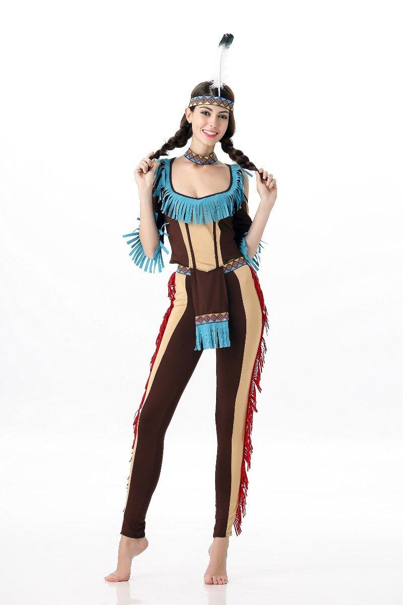 2351 Aliexpresscom Comprar Envío Gratis Sexy Disfraces De Halloween Para Las Mujeres Traje Indio Halloween Masquerade Cosplay Diosa India De