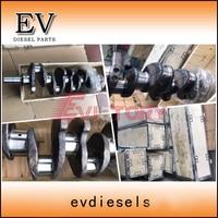 For cummins engine forklift/excavator B3.3 4B3.3 4BT3.3 QSB3.3 crankshaft forging steel 3329036