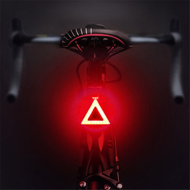 Bicycle Light 5 Lighting Tailight Modes Bicycle Light USB Charge Led Bike Light Flash Strobe  Rears for Mountain Bike Seatpost