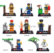 Wholesale SY263 80pcs Super Heroes Avengers City Minifigures City Action Figures Bricks Toys for children Compatible With Legao