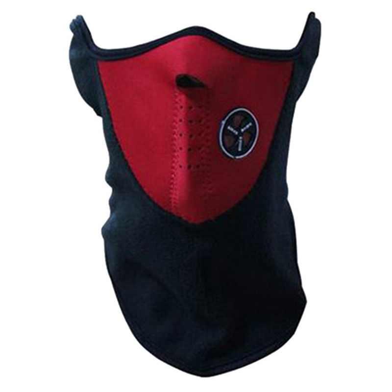 Pria Wanita Musim Semi Outdoor Masker 2019 Hangat Kerah Windproof Setengah Wajah Masker Dingin Perlindungan Bersepeda Motor Kerah Aksesoris