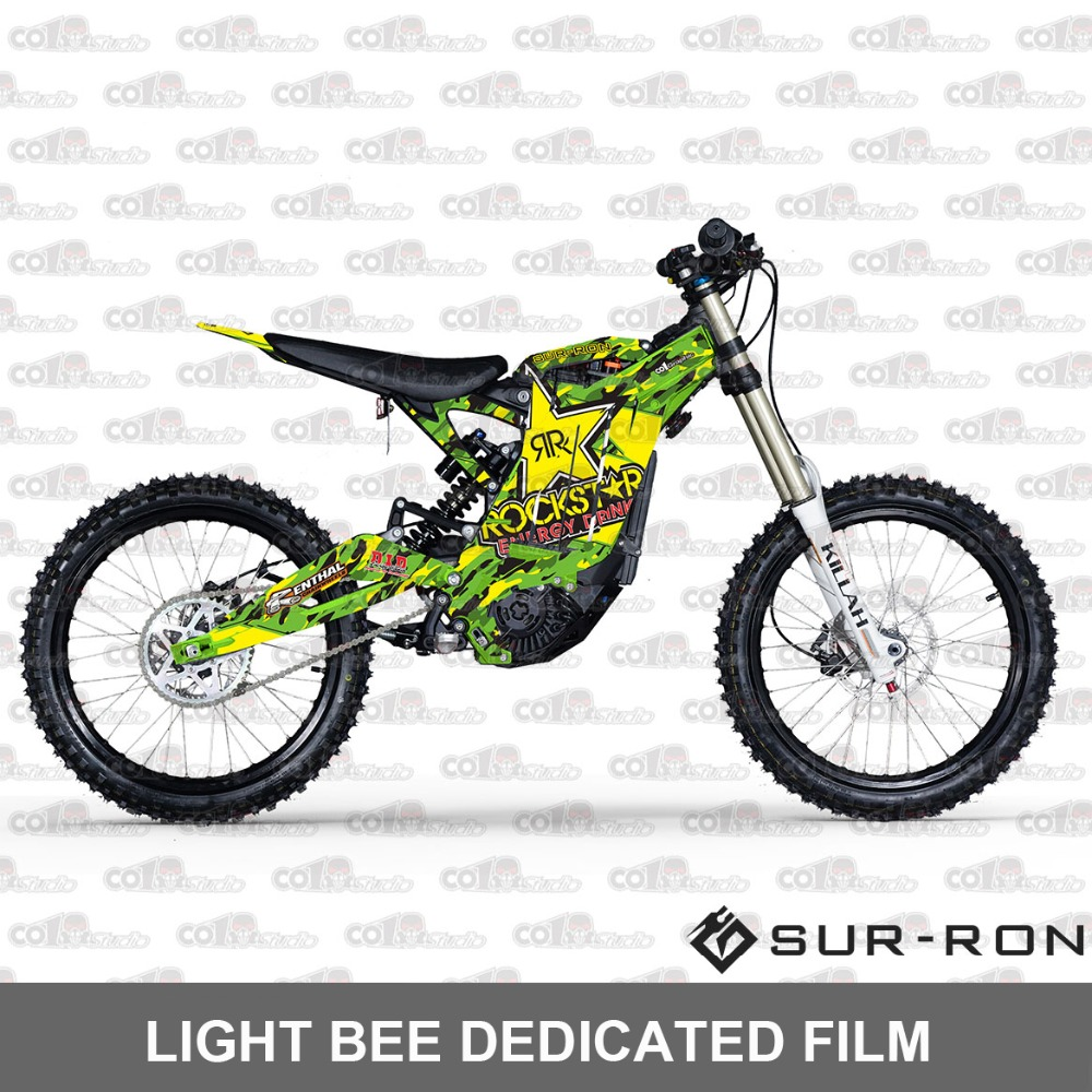 Special Sticker Sur-ron Light Bee 3M Modified Full Motorcycle Sticker