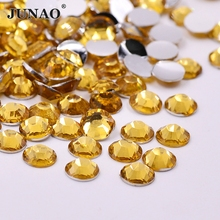 2 3 4 5 6 mm LT Topaz Resin Rhinestones Flat Back 3D Nail Cabochon Strass  Crystal Stones Scrapbooking Craft Jewelry Accessories 3ff804e5d8d9