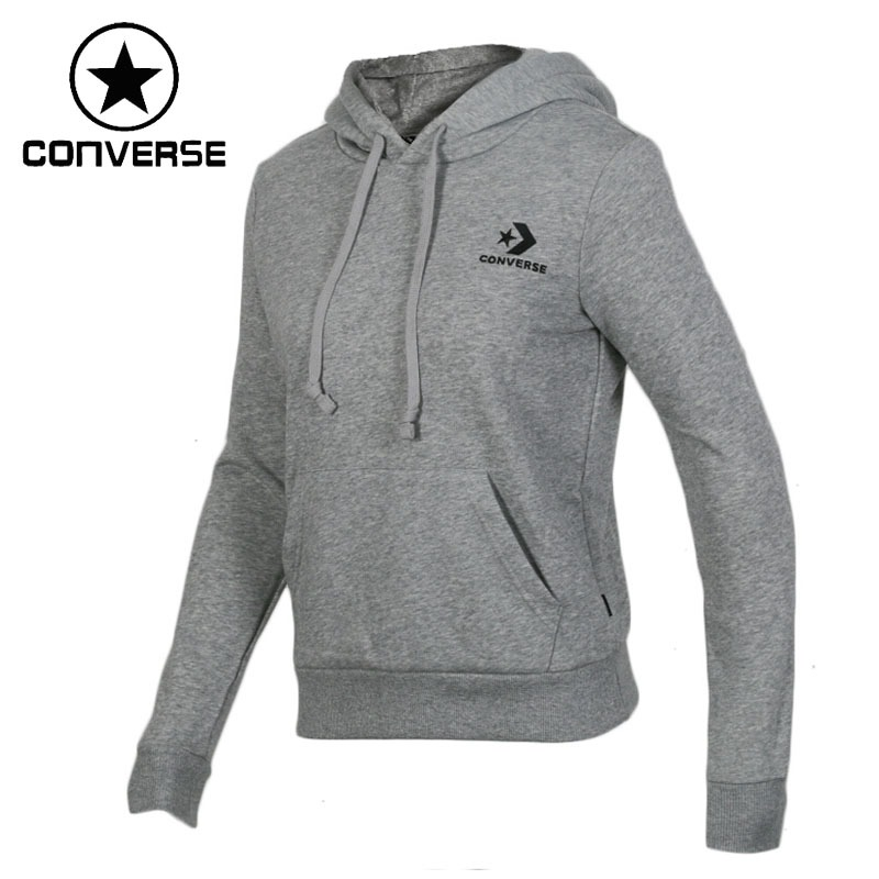 Original New Arrival 2018 Converse Star Chevron EMB PO Women's Pullover Hoodies Sportswear original new arrival 2018 converse star chevron pullover hoodie men s pullover hoodies sportswear