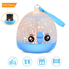 Lucky Fish Starry Sky LED Night Light Projector USB Remote Control Rotating Bedroom Novelty Lamp for Children Baby usb led new year night light sky starry rotating star projector lamp baby bedroom decor children kid night light for christmas