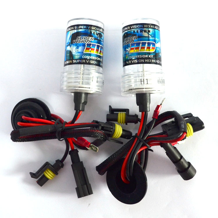 One pair 55W Xenon HID Bulb Headlight Lamp Auto Car H1 H3  H7 H8 H9 H10 H11 9005 9006 HB3 HB4 D2S D2C 4300K 6000K 8000K 10000K
