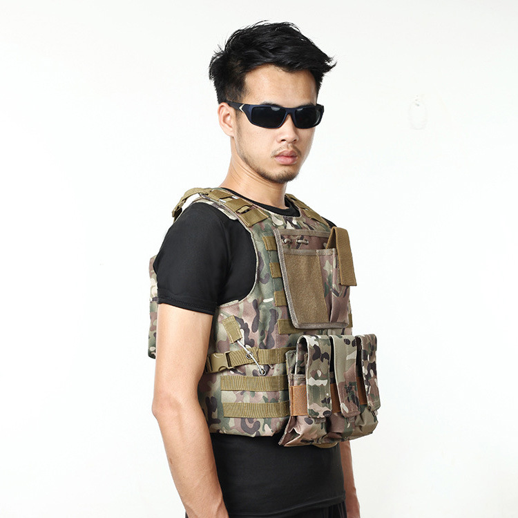 Live Cs Field Guard Vest Army Tactical Vest And Pack Wear Resistant Anti-piercing Equipment A4306 Camping & Hiking
