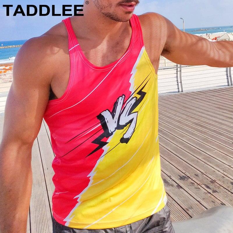 Taddlee marque nouveau hommes musculation débardeur Stringer hommes Sport Fitness Singlet gilet vêtements t-shirt sans manches Muscle Hip Hop
