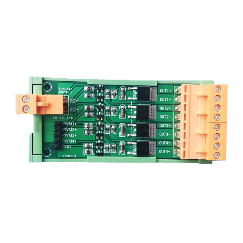 Four way mos tube FET / PWM regulated power Amplified drive module DC 3.3/5/12/24 V free shipping 1000pcs n channel fet si2300 2300 3 6a 30v sot23 mos tube