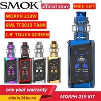 New Original Electronic Cigarette SMOK MORPH 219W Box Kit 6ml TF2019 Tank 1.9 Touch Screen SMOK Vape KIT E cigarette Vaporizer