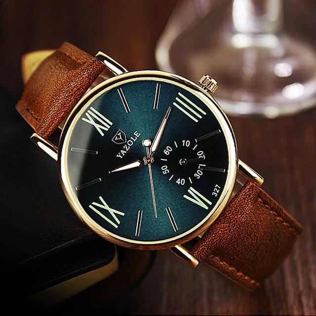 f76ad94ee58 Yazole Relógio De Quartzo Das Mulheres Relógios Top Marca de Luxo Famoso  Relógio De Pulso Relógio
