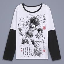 Unisex Boku no Hero 2019 T Shirt my hero academia T-Shirt long sleeve