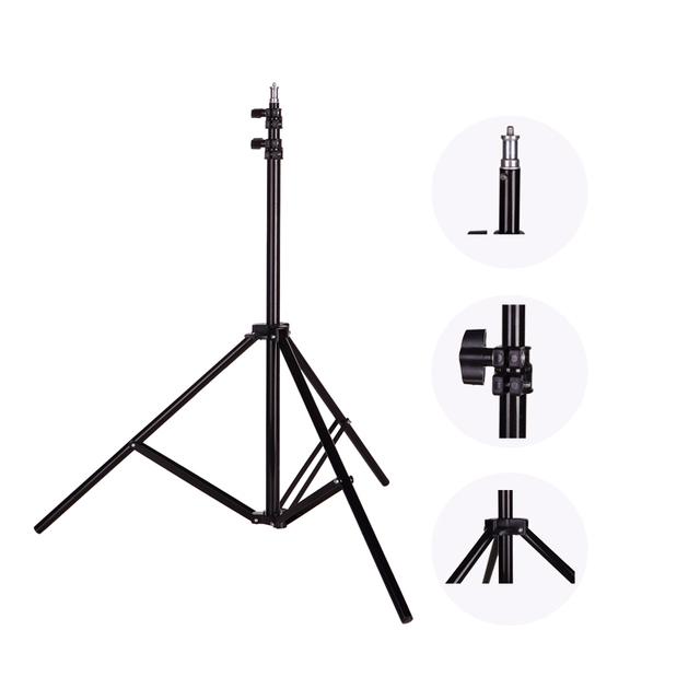 Photo 2M(79in) Light Stand Tripod With 1/4 Screw Head For Photo Studio Softbox Video Flash Umbrellas Reflector Lighting