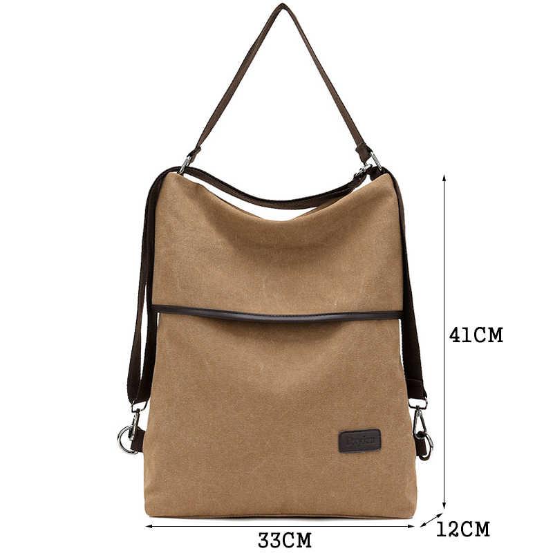 Модный женский рюкзак, простая ткань, рюкзак большой емкости, водонепроницаемый, Противоугонный, дорожный рюкзак Mochilas Mujer 2018