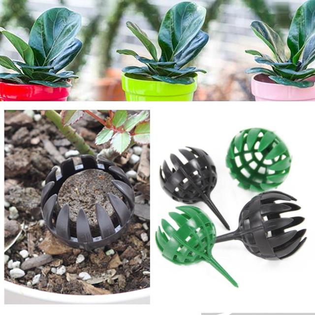10pcs Bonsai Tool Plastic Fertilizer Cover Box Dome Case Soft Bug Case Portable
