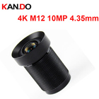 4K Lens m12 lens 10.0MP for Action Camera Lens 4.35mm Lens M12 1/2.3