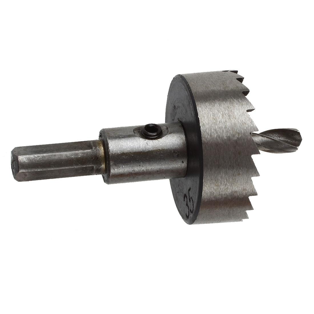 Cast Iron Cutting 35mm HSS Hole Saw Twist Drill Bit  ayhf 60mm hole saw cast iron cutting hss twist drill bit