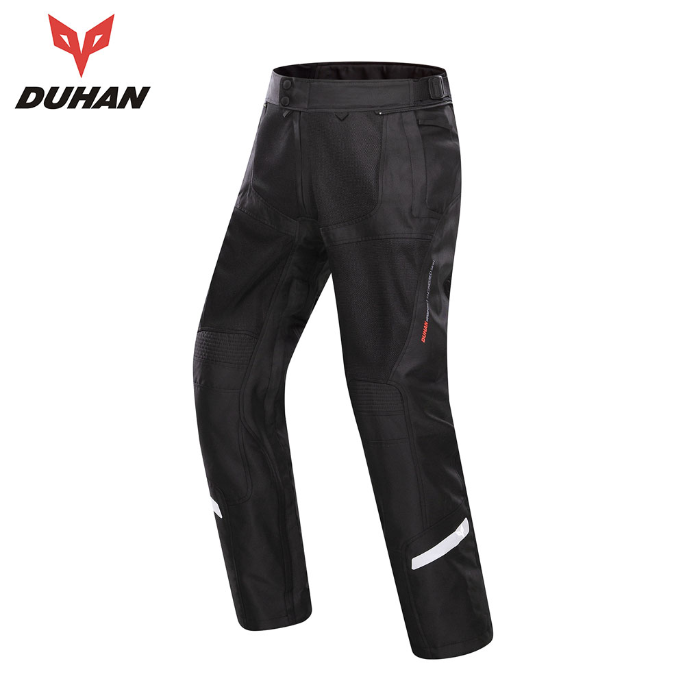 DUHAN Motorcycle Pants Moto Motocross Pants Men Trousers Enduro Riding Trousers Motocross Off-Road Racing Sports Knee Protective