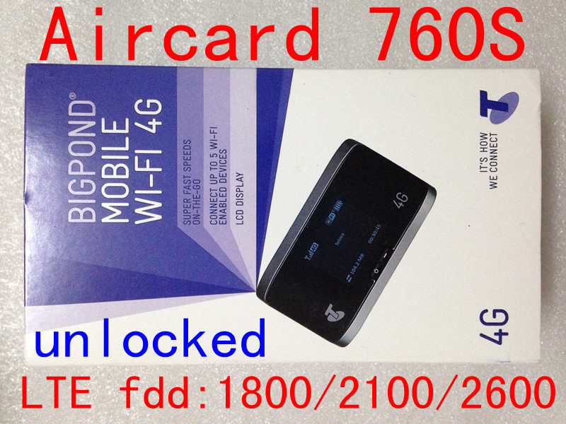 Unlock Sierra Aircard 760S LTE 4g Wireless wifi 4g 3g mifi Router 4G lte 3g pocket dongle 4G mifi router pk w800 782s 762s 763S