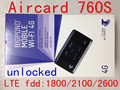 Unlock Sierra Aircard 760S LTE 4g Wireless wifi 4g 3g mifi Router 4G lte 3g pocket dongle 4G mifi router pk w800 782s 762s 763S