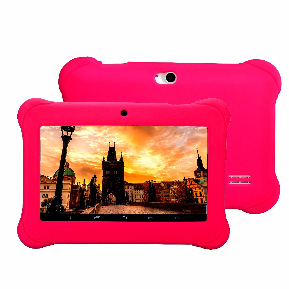 BDF Popular Tablet 7 Inch Tablet Pc for Kids 1204*600 LCD Children Gift Game App Android 4.4 Quad Core Tab 7 8 9 10 WiFi Tablets image