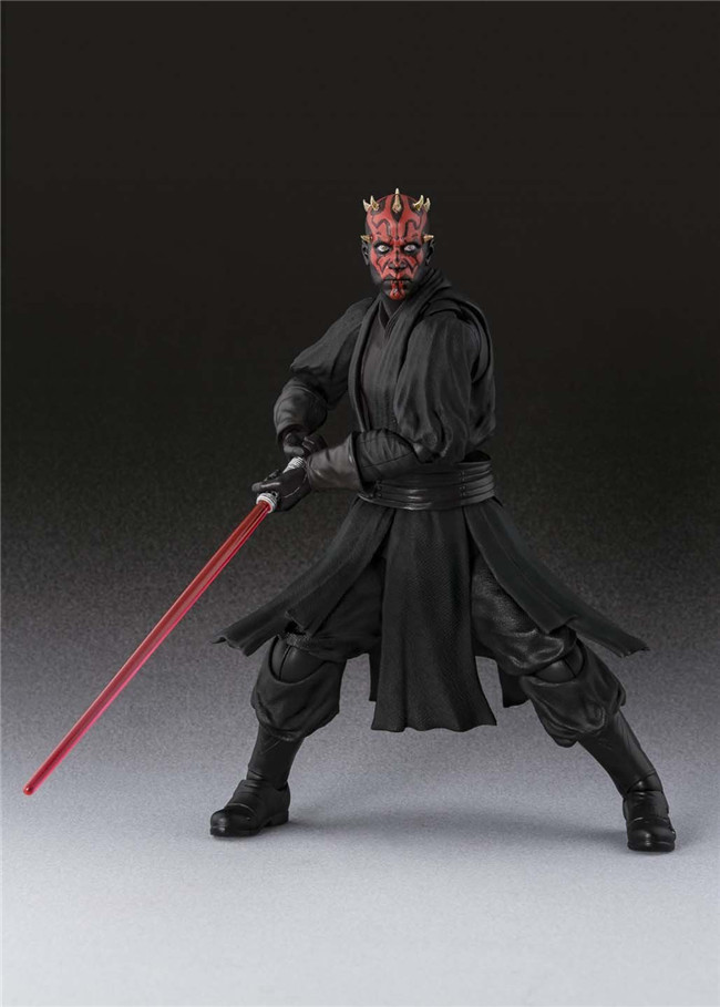 Star Wars Darth Maul S.H.Figuarts Action Figure Toys Collection Model Anime Star Wars Darth Maul Darth Vader 140mm star wars darth vader stormtrooper darth maul pvc action figure collectible model toy 15 17cm kt1717